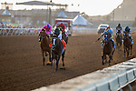 DEL MAR,CA-SEPTEMBER 03: Union Strike #7,ridden by Martin Garcia,wins the Del Mar Debutante at Del Mar Race Track on September 03,2016 in Del Mar,California (Photo by Kaz Ishida/Eclipse Sportswire/Getty Images)