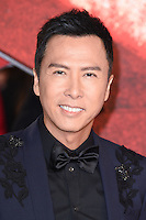 """Donnie Yen<br /> at the """"xXx: Return of Xander Cage"""" premiere at O2 Cineworld, Greenwich , London.<br /> <br /> <br /> ©Ash Knotek  D3216  10/01/2017"""