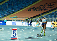 2nd May 2021; Silesian Stadium, Chorzow, Poland; World Athletics Relays 2021. Day 2; Laviai Nielsen of Great Britain out of the blocks in lane 5 in the women's 4 x 400