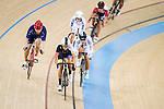 Li Ka Hei (c) of Noble Cycling Team hk competes during the Open 30km Points Race at the Hong Kong Track Cycling Race 2017 Series 5 on 18 February 2017 at the Hong Kong Velodrome in Hong Kong, China. Photo by Marcio Rodrigo Machado / Power Sport Images