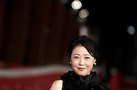 "La regista giapponese Miwa Nishikawa posa sul red carpet per la presentazione del film ""The Long Excuse"" al Festival Internazionale del Film di Roma, 18 ottobre 2016.<br /> Japanese director Miwa Nishikawa poses on the red carpet to present the movie ""The Long Excuse"" during the international Rome Film Festival at Rome's Auditorium,18 October 2016.<br /> UPDATE IMAGES PRESS/Isabella Bonotto"