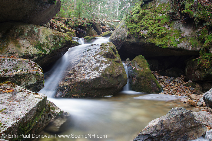 Tecumseh Brook in Waterville Valley of the New Hampshire White Mountains.