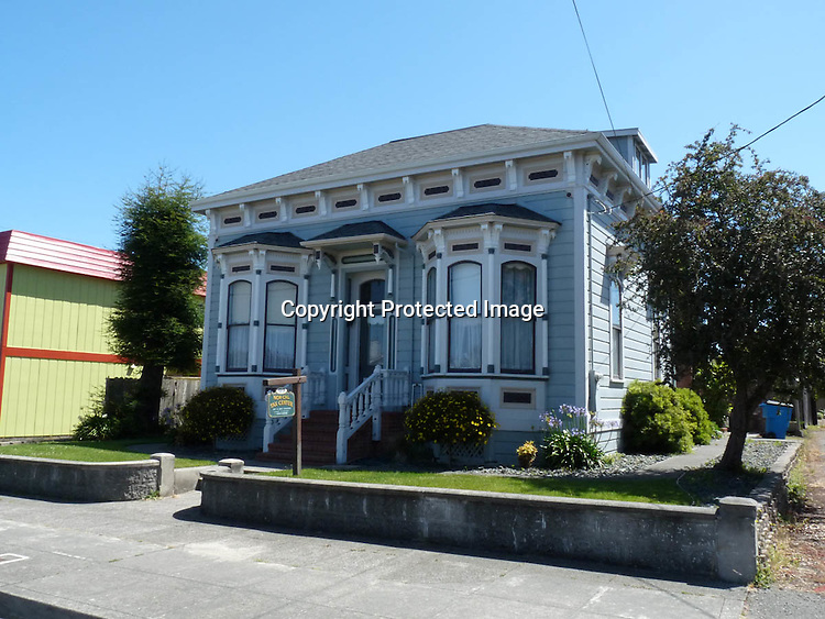 Victorian Houses Eureka Humboldt County California