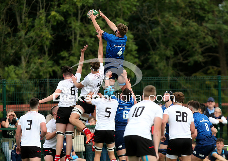 Saturday 5th September 2021<br /> <br /> Michael Colreavy during U18 Schools inter-pro between Ulster Rugby and Leinster at Newforge Country Club, Belfast, Northern Ireland. Photo by John Dickson/Dicksondigital