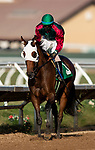 AUG 15: Pulpit Rider  with JJ Hernandez wins the Solana Beach Stakes at Del Mar Racecourse in Del Mar, California on August 15, 2020. Evers/Eclipse Sportswire/CSM