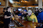 Lou Spaldo and Ellen <br /> apres ski at the Trapp Bar