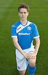 St Johnstone Academy Under 17's…2016-17<br />Gavin Brown<br />Picture by Graeme Hart.<br />Copyright Perthshire Picture Agency<br />Tel: 01738 623350  Mobile: 07990 594431
