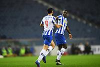 13th February 2021; Dragao Stadium, Porto, Portugal; Portuguese Championship Football, FC Porto versus Boa Vista; Mehdi Taremi of FC Porto celebrates his goal in the 54th minute for 1-2