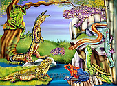 Alfredo, CUTE ANIMALS, puzzle, paintings(BRTO50972,#AC#) illustrations, pinturas, rompe cabeza