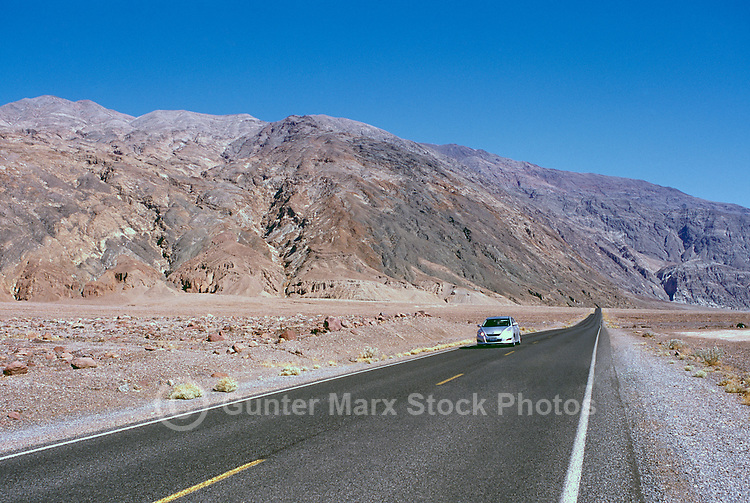 Death Valley National Park, California, CA, USA - State Highway 178 along the Black Mountains (Amargosa Range)