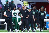 10th October 2021; Tottenham Hotspur stadium, London, England; NFL UK Series, Atlanta Falcons versus New York Jets: New York Jets head coach Robert Saleh