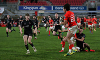 12 December 2020; Conor Phillips during the A series inter-pros series 20-21 between Ulster A and Munster A at Kingspan Stadium, Ravenhill Park, Belfast, Northern Ireland. Photo by John Dickson/Dicksondigital