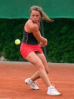 12-8-09, Den Bosch,Nationale Tennis Kampioenschappen, 1e ronde,  Iris Verboven