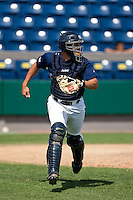 April 11th 2010: Michael Roberts of the Brevard County Manatees, the Florida State League High-A affiliate of the Milwaukee Brewers in a game against the of the Daytona Cubs, the Florida State League High-A affiliate of the Chicago Cubs at Space Coast Stadium in Viera, FL (Photo By Scott Jontes/Four Seam Images)