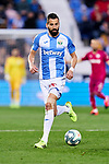 Dimitrios Siovas of CD Leganes during La Liga match between CD Leganes and Deportivo Alaves at Butarque Stadium in Leganes, Spain. February 29, 2020. (ALTERPHOTOS/A. Perez Meca)
