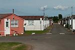 Leysdown on Sea, Isle of Sheppey, Kent, UK 2014. Semi permanent  homes.