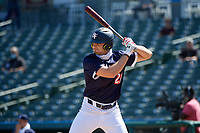 Camden Hayslip (21) bats during the Baseball Factory All-Star Classic at Dr. Pepper Ballpark on October 4, 2020 in Frisco, Texas.  Camden Hayslip (21), a resident of Lebanon, Tennessee, attends Friendship Christian Academy.  (Mike Augustin/Four Seam Images)