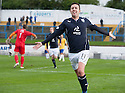 Dundee's Ryan Conroy celebrates after he scores their second goal.