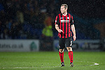 Ross County v St Johnstone....07.04.15   SPFL<br /> Frazer Wright at full time<br /> Picture by Graeme Hart.<br /> Copyright Perthshire Picture Agency<br /> Tel: 01738 623350  Mobile: 07990 594431