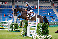 FRA-Regis Prud Hon rides Tarastro during the Jumping for the CCIO4*-S Eventing - SAP Cup. 2021 GER-CHIO Aachen Weltfest des Pferdesports. Aachen, Germany. Friday 17 September. Copyright Photo: Libby Law Photography