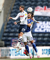Preston North End's Tom Barkuizen<br /> <br /> Photographer Mick Walker/CameraSport<br /> <br /> The EFL Sky Bet Championship - Preston North End v Cardiff  City - Saturday 27th June 2020 - Deepdale Stadium - Preston<br /> <br /> World Copyright © 2020 CameraSport. All rights reserved. 43 Linden Ave. Countesthorpe. Leicester. England. LE8 5PG - Tel: +44 (0) 116 277 4147 - admin@camerasport.com - www.camerasport.com