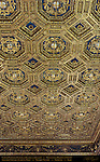 Coffered 24K Gold Ceiling Sala dell'Udienza (Audience Hall) Palazzo Vecchio Florence