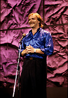Michel Beaudry circa 1987 at Juste Pour Rire Festival.<br /> photo (c)  Images Distribution