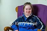 Katie Lyons a student at Saint Itas and Josephs at home in Castleisland.