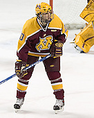 Evan Kaufmann - The University of Minnesota Golden Gophers defeated the University of North Dakota Fighting Sioux 4-3 on Friday, December 9, 2005, at Ralph Engelstad Arena in Grand Forks, North Dakota.