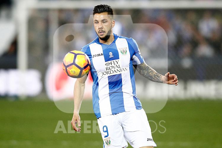 CD Leganes' Miguel Angel Guerrero during La Liga match. February 25,2017. (ALTERPHOTOS/Acero)
