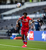 12th September 2020; Pride Park, Derby, East Midlands; English Championship Football, Derby County versus Reading; Omar Richards of Reading taking a throw in