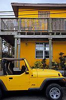Les Bahamas /Ile d'Eleuthera/Harbour Island/Dunmore Town: dans les rues du village