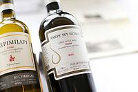 Degustation des vins grecs <br /> <br /> Greek wines tasting<br /> <br /> 2017<br /> <br /> PHOTO :  Agence Québec Presse