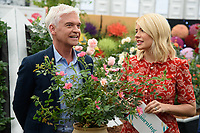 Phillip Schofield and Holly Willoughby<br /> at the Chelsea Flower Show 2018, London<br /> <br /> ©Ash Knotek  D3402  21/05/2018