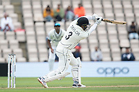 Ross Taylor, New Zealand lofts his drive and is dismissed caught by Gill during India vs New Zealand, ICC World Test Championship Final Cricket at The Hampshire Bowl on 22nd June 2021