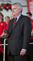 Wednesday September 10, 2014 <br /> Picture: Carwyn Jones<br /> RE: First Minister, Carwyn Jones attends the Commonwealth Games homecoming ceremony for Team Wales at the Senedd, Cardiff, South Wales, United Kingdom.