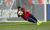 Cary, N.C. - Tuesday March 27, 2018: Zack Steffen during an International friendly game between the men's national teams of the United States (USA) and Paraguay (PAR) at Sahlen's Stadium at WakeMed Soccer Park.