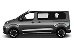 Car driver side profile view of a 2020 Opel Zafira-Life Business-Innovation 5 Door Mini Van