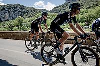 Cees Bol (NED/DSM) rolling through the spectacular Gorges de l'Ardèche<br /> <br /> Stage 12 from Saint-Paul-Trois-Châteaux to Nîmes (159km)<br /> 108th Tour de France 2021 (2.UWT)<br /> <br /> ©kramon