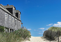 Beach house, Ballston Beach, Truro, Cape Cod, Massachusetts, USA