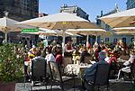 Deutschland, Freistaat Sachsen, Dresden: Kaffeehaus anno 1708 am Neumarkt   Germany, the Free State of Saxony, Dresden: coffee house anno 1708 at Neumarkt square