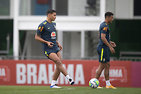 11th November 2020; Granja Comary, Teresopolis, Rio de Janeiro, Brazil; Qatar 2022 qualifiers; Thiago Silva of Brazil during training session in Granja Comary