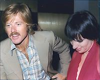 Robert Redford & Liza Minelli 1983<br /> Photo By John Barrett-PHOTOlink.net / MediaPunch