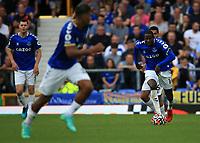 25th September 2021; Goodison Park, Liverpool, England; Premier League football, Everton versus Norwich; Alex Iwobi of Everton runs with the ball at his feet