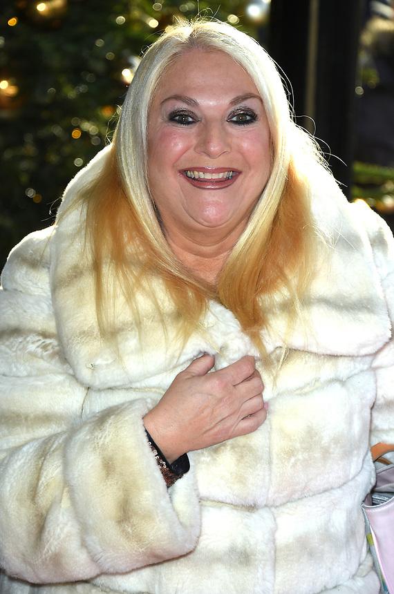 Vanessa Feltz<br /> arriving for the TRIC Christmas Party, Grosvenor House Hotel, London.<br /> <br /> <br /> ©Ash Knotek  D3362  12/12/2017