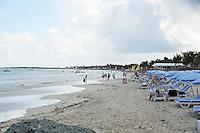 Orient Beach im Norden von St. Maarten
