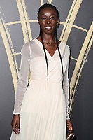 LONDON, UK. September 14, 2019: Eunice Olumide at the Fashion for Relief Show 2019 at the British Museum, London.<br /> Picture: Steve Vas/Featureflash