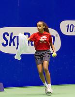 19-12-10, Tennis, Rotterdam, Reaal Tennis Masters 2010,   Ballenmeisje
