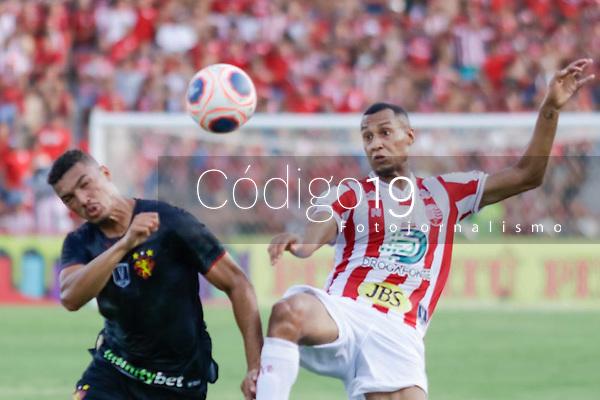 Recife (PE) 19/01/2020 - NÁUTICO-SPORT - Partida entre Náutico e Sport válida pela 1° rodada do Campeonato Pernambucano, neste domingo(19) nos Aflitos, Recife (PE)