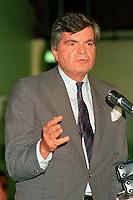 Montreal (Qc) CANADA - 1987 File Photo -Claude Dupras, Leader Parti Civique